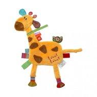 Label-Label Knuffeldoekje Giraffe