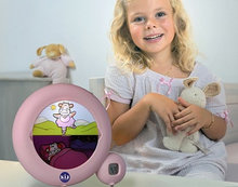 Claessens'Kids kinderwekker Classic roze