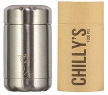 Chilly's geïsoleerde foodpot Stainless Steel