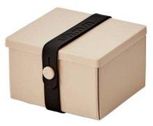 Uhmm Box vierkant Mocca Black