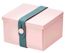 Uhmm Box vierkant Pink Petrol