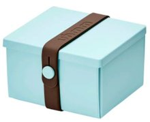 Uhmm Box vierkant Mint Brown