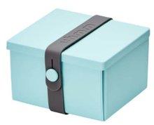 Uhmm Box vierkant Mint Dark Grey