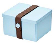 Uhmm Box vierkant Light Blue Brown