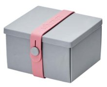 Uhmm Box vierkant Light Grey Pink
